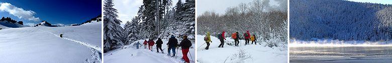 Séjours randonnées hiver Pyrénées :