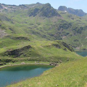 Bivouac au lac Bleu et Vert